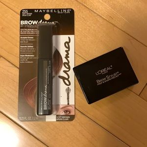 Brow Makeup, Maybelline and L'Oreal